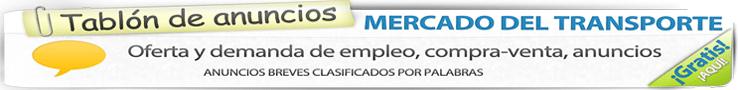 Mercado de Transporte - ANUNCIOS BREVES