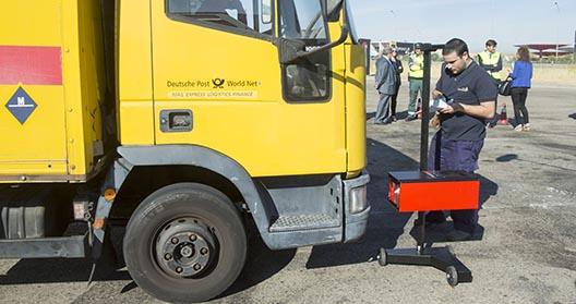 Controles a vehículos pesados con ITVs móviles