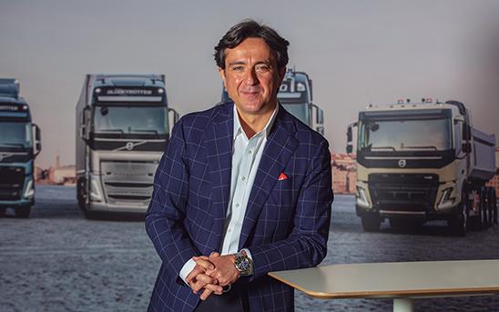 Giovanni Bruno, director general de Volvo Trucks
