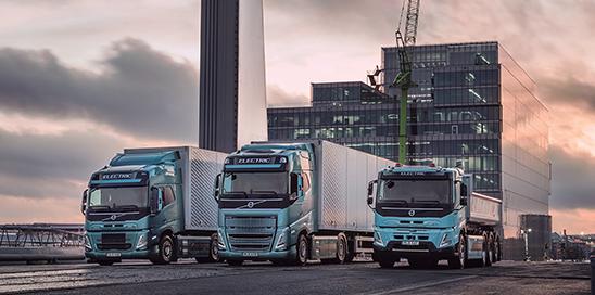 Nueva Gama eléctrica de Volvo Trucks
