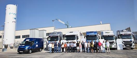 Rally LNG Blue Corridor para vehículos de gas natural