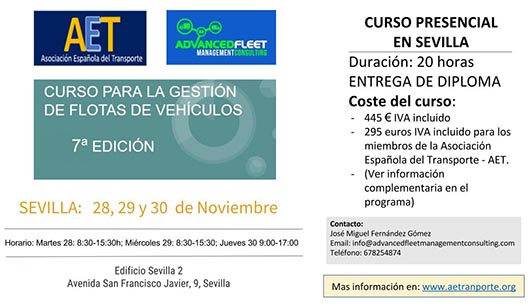 Advanced Fleet Management Consulting curso de gestión de flotas