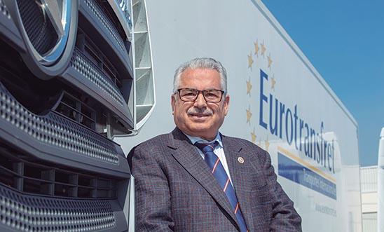 Ceferino Riquelme gerente de Eurotransfret