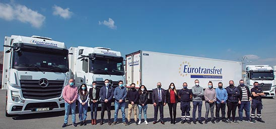 Personal de  Eurotransfret