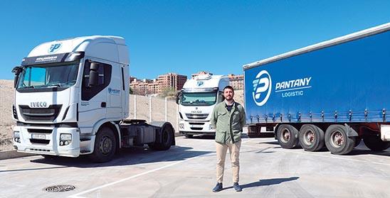 El director financiero de Pantany Logistic, Álvaro Sánchez