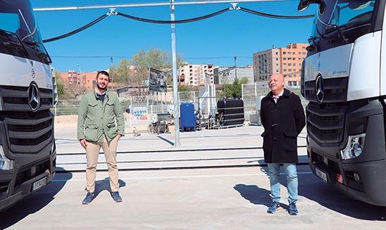Juan Ángel Gonzalez y Álvaro Sánchez de Pantany Logistic