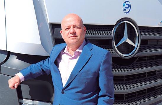 Juan Ángel Gonzalez fundador de Pantany Logistic