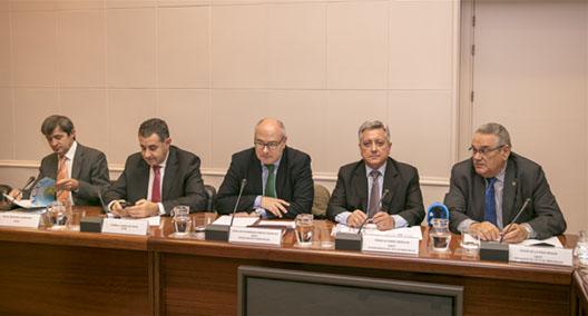Reunión del Comité Nacional del Transporte con el ministro de Fomento