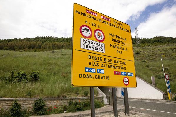 Peajes en Navarra