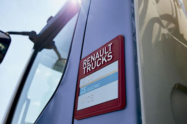 Camiones Renault eléctricos