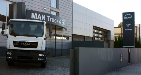 nuevo MAN Truck&Bus Center en Braga (Portugal),