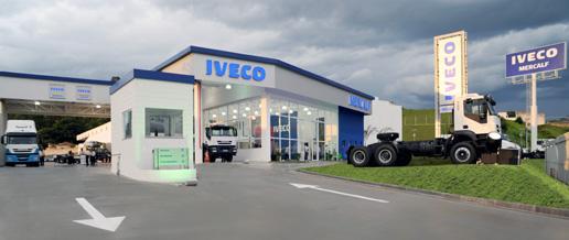 Concesionario eco-sostenible de Iveco en Brasil