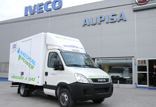 Iveco EcoDaily Natural Power de GNC