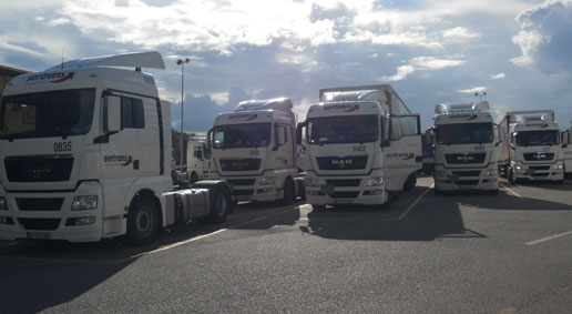 MAN TGX EfficientLine de Sertrans