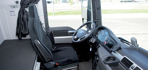 Cabina del MAN TGX 18.480 XLX Efficientline