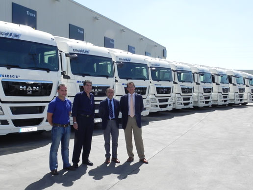 MAN TGX EfficientLine de Gar y Cía