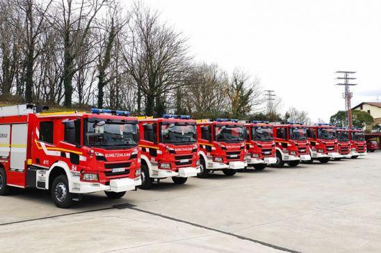 Camiones de bomberos equipados con Allison
