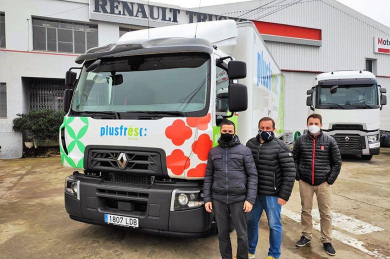 Transportes Bosch Portillo apuesta por el Renault Trucks D Wide GNC