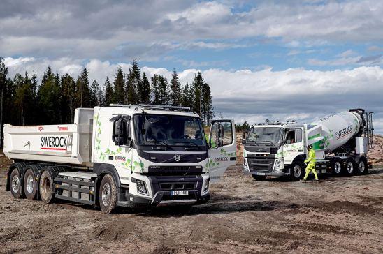 Volvo pone a prueba sus camiones eléctricos
