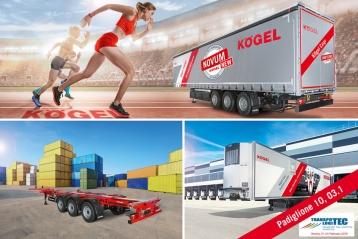 Kögel mostrará sus semirremolques en Transpotec Logitec 2019