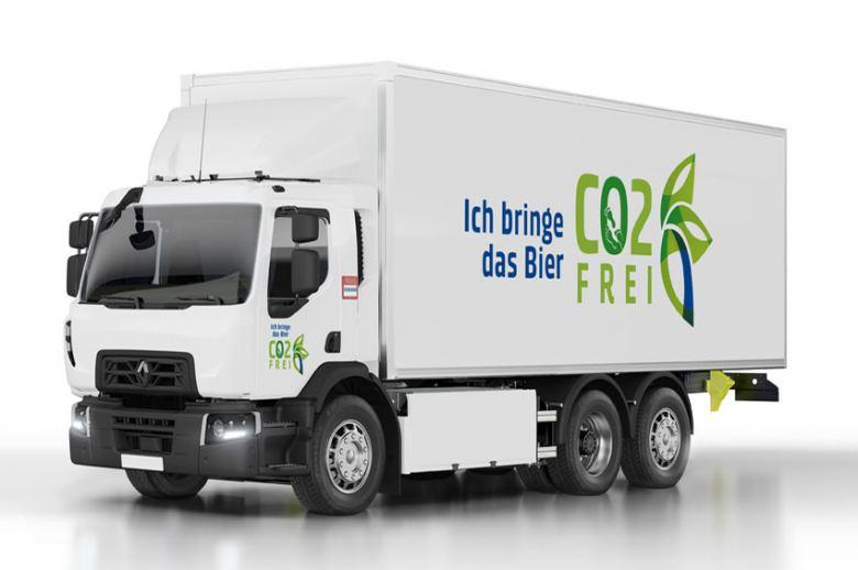 El Grupo Carlsberg suma 20 camiones eléctricos Renault Trucks a su flota