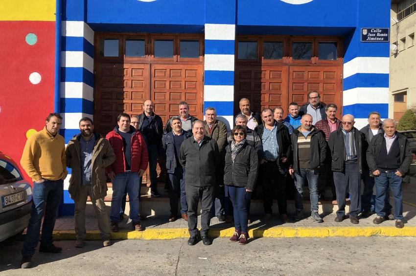 Asetra Segovia se reúne con el transporte de Cantalejo