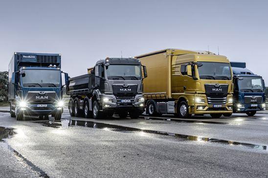 Nuena gama de camiones MAN Truck & Bus