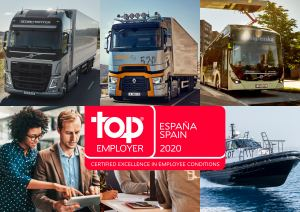 Volvo Group España empresa  Top Employer 2020