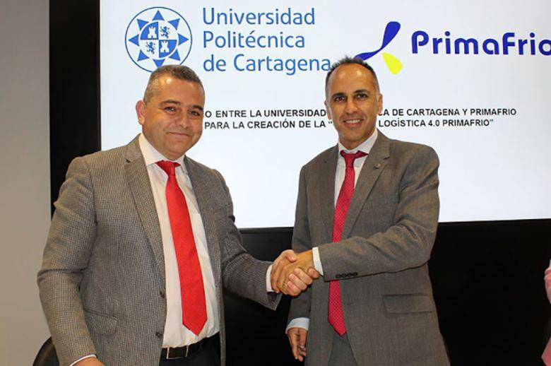 Primafrio y la UPCT crean la Cátedra Primafrio Logística 4.0