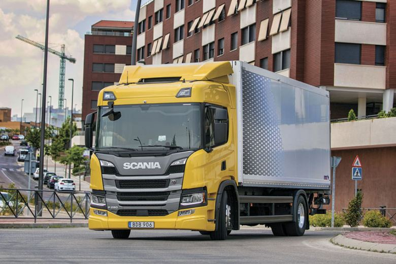 Prueba de camión Scania P 280 B4x2
