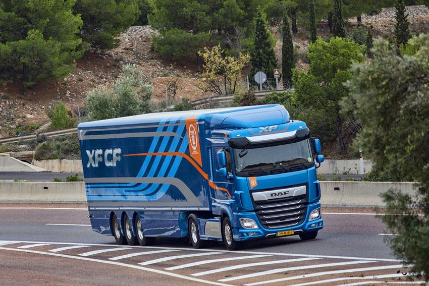Prueba camión DAF XF 480 FT
