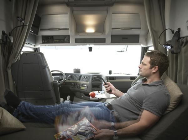 Descanso en cabina