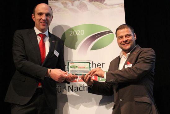 Kögel consigue el premio europeo a la sostenibilidad en el transporte 2020