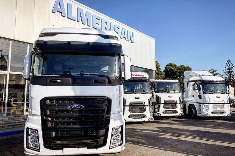 Nuevo Concesionario Ford Trucks En Almeria Transporte Profesional