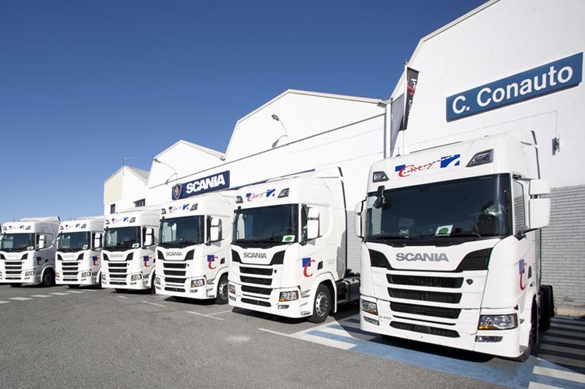 Transportes Cruz suma 25 camiones Scania R450 a su flota