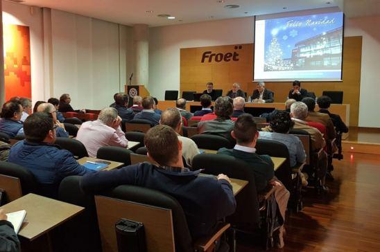 Asamblea general del FROET