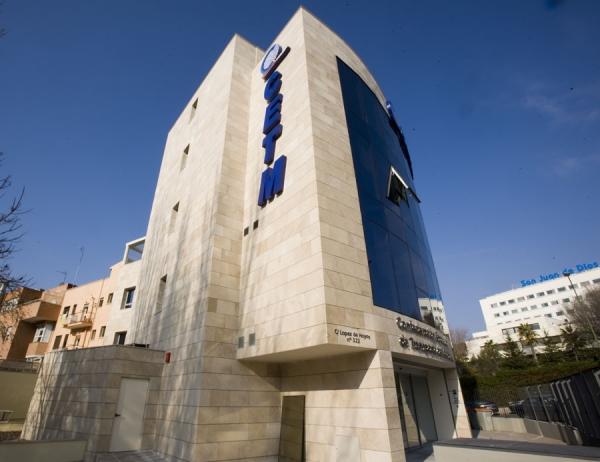 Edificio de la CETM en Madrid