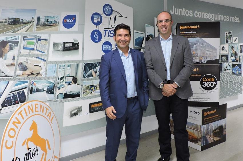Los talleres de neumáticos para vehículos comerciales de Continental se incorporan a TruckOn