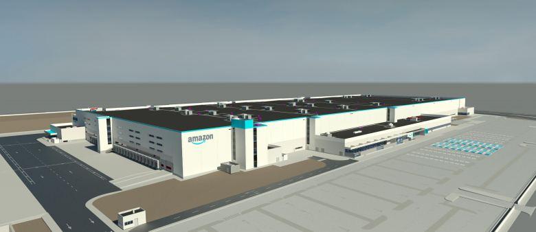 Nuevos centros logísticos de Amazon en Castellón y Gerona