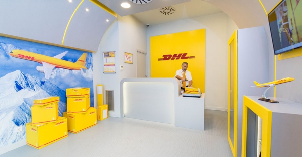 Express Center de DHL en Barcelona