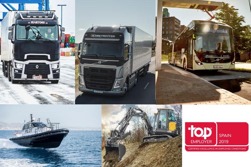 Volvo Group España se sitúa como empresa Top Employer 2019