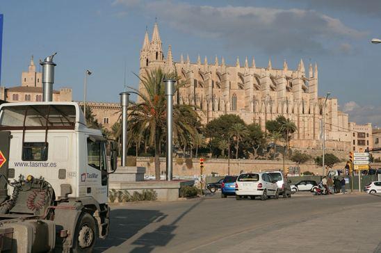 Camión en Palma de Mallorca