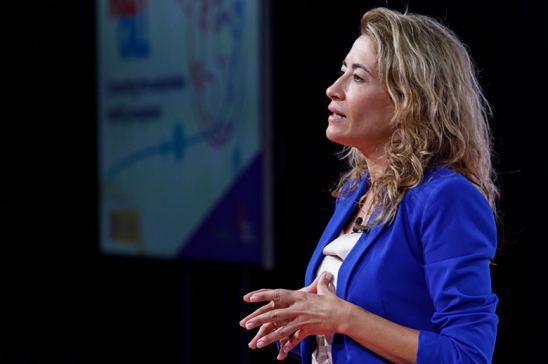 Raquel Sánchez defiende las inversiones en electromovilidad en el Consejo de Ministros de Transportes