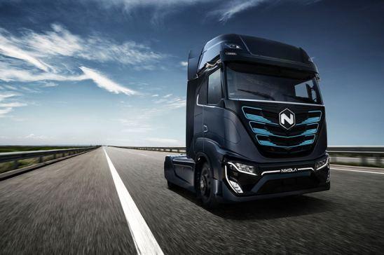 Camión de hidrógeno Nikola