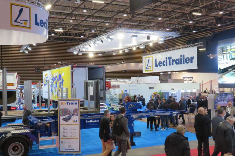Lecitrailer llevó sus nuevos semirremolques a Solutrans 2019