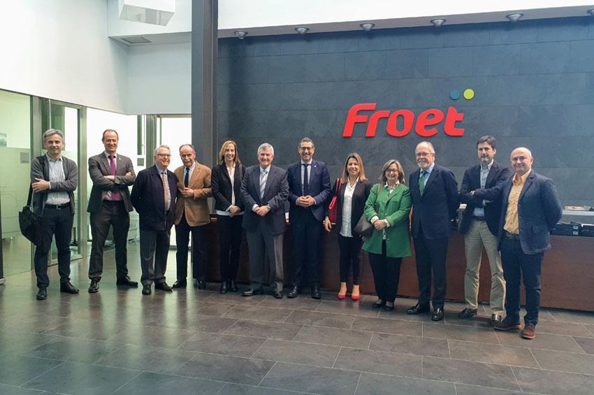 FROET estudia una posible colaboración con la Universidad de Murcia