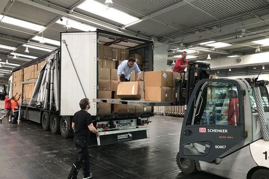 Transporte de mercancías en Europa durante pandemia Covid-19