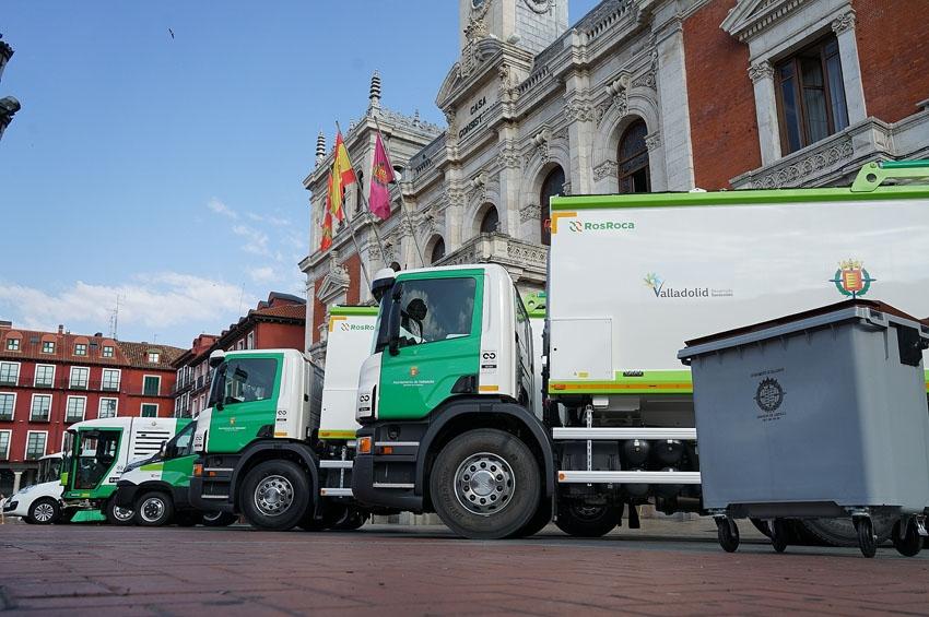 El Ayuntamiento de Valladolid adquiere tres camiones Scania para la recogida de residuos