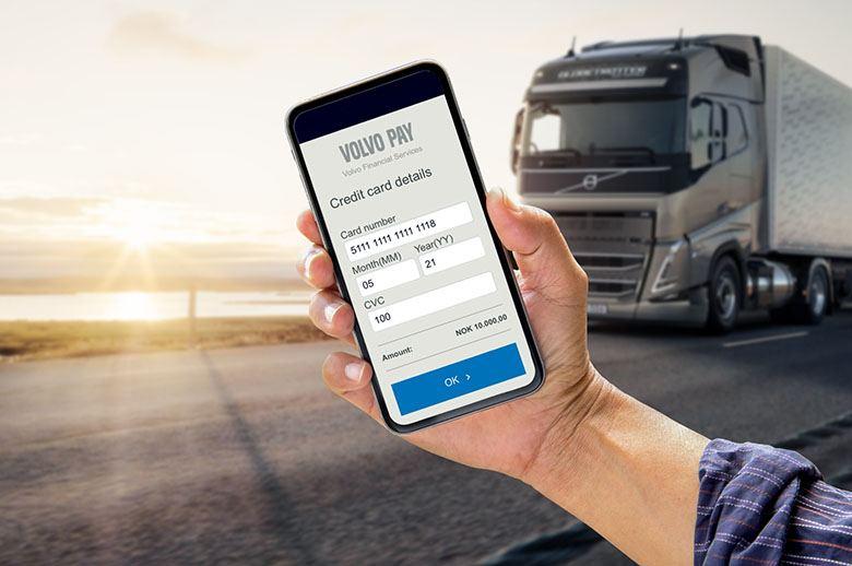 Volvo Pay, la nueva forma de pago a través de dispositivo móvil
