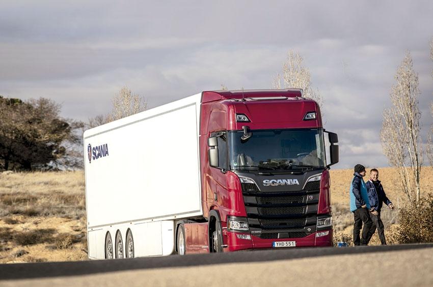 Prueba camión Scania R 520